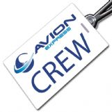 AVION EXPRESS - Crew Tag